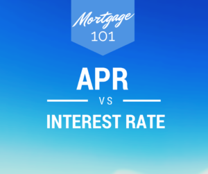 What is APR vs Interest Rate