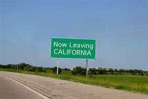 Image result for leaving california