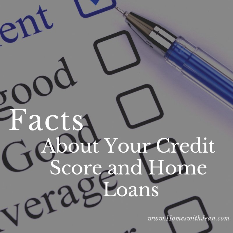 Facts About Credit Scoring and a Home Loan