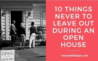 10 Things Never To Leave Out During an Open House