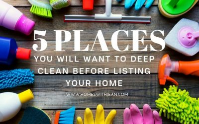 Places You will Want to Deep Clean Before Listing Your Home
